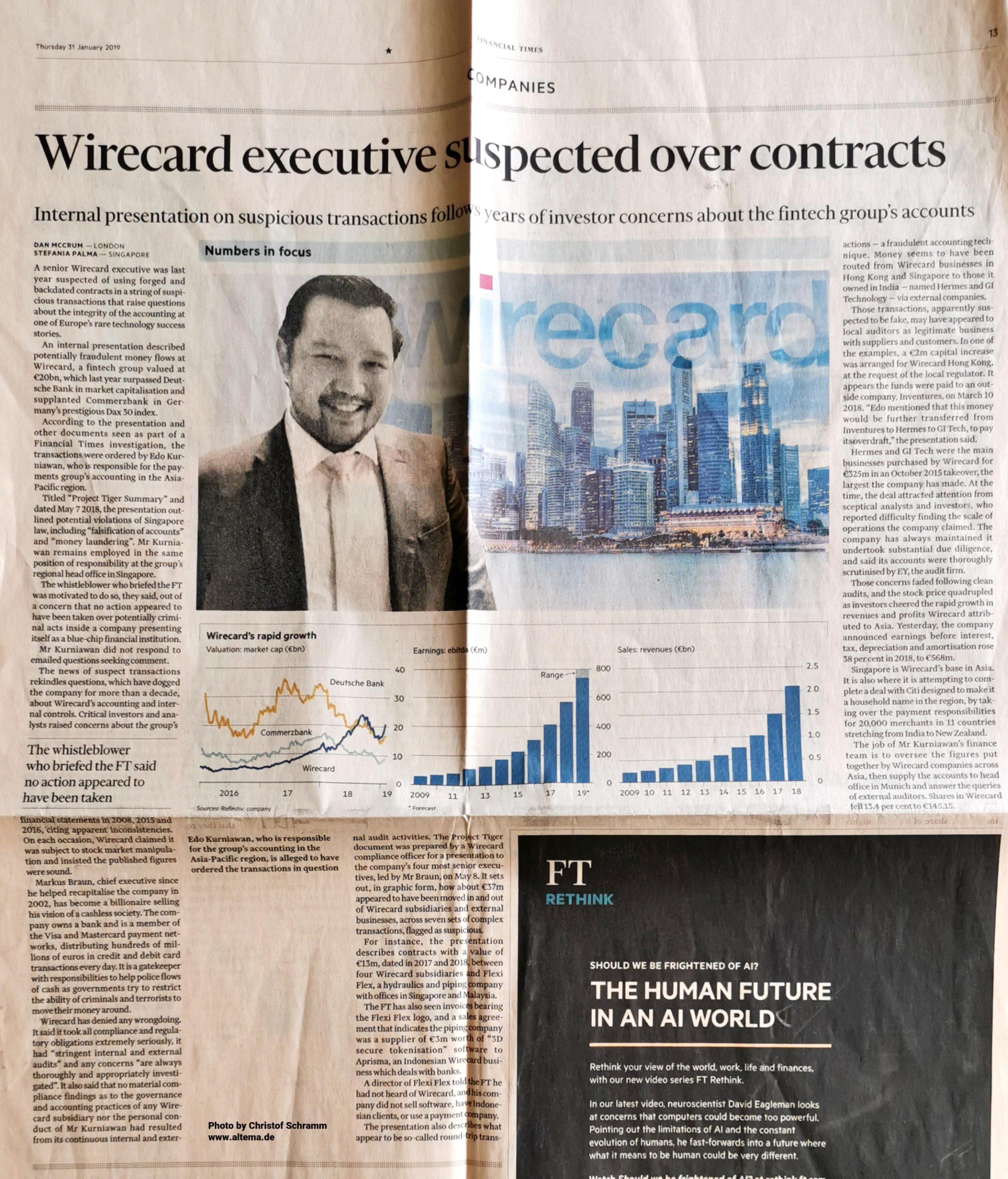 Wirecard Financial Times