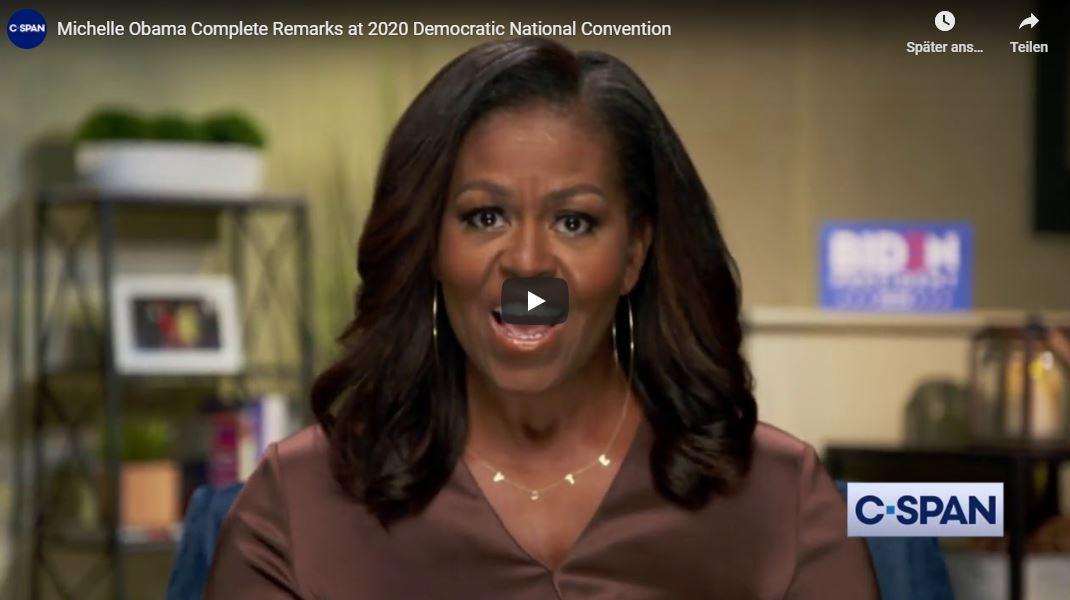 Rede von Michelle Obama auf dem DNC 2020